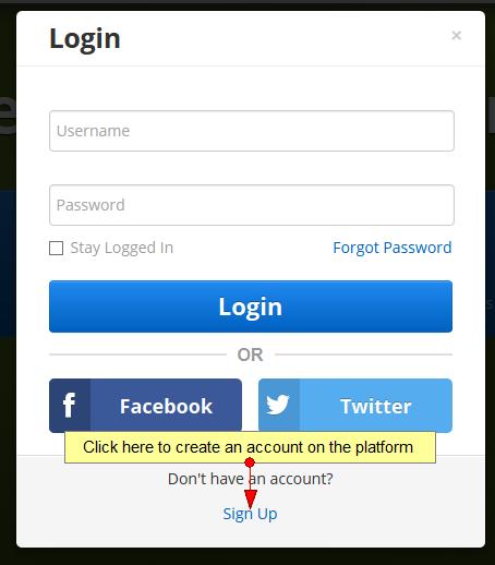 Register using your Facebook account | NKTelko manual V6 0