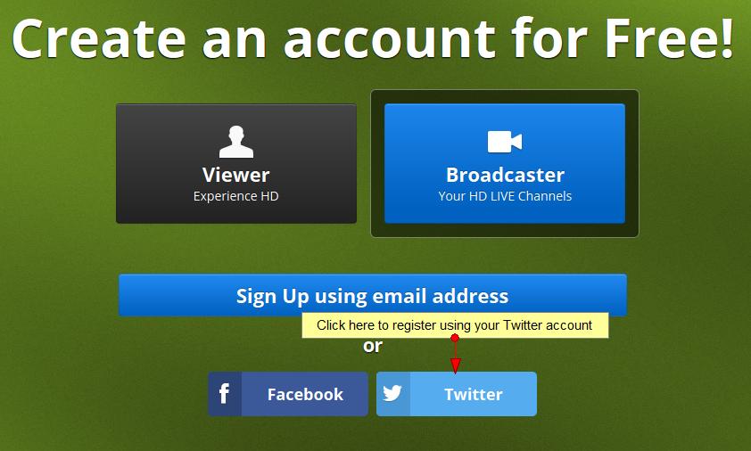 Register using your Twitter account   NKTelko manual V6 0